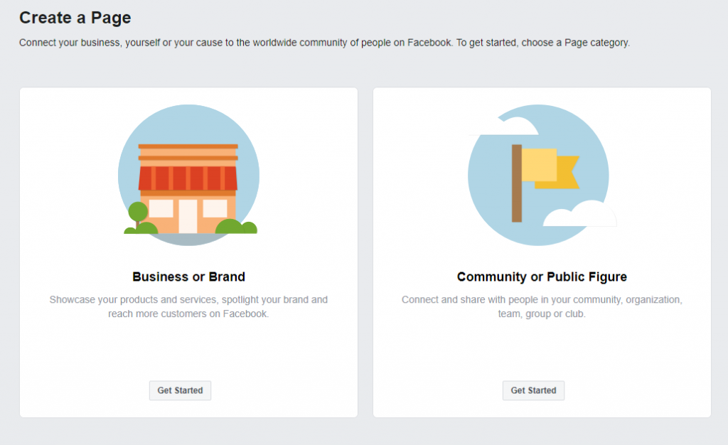 Facebook Business Page Creation and Step 1